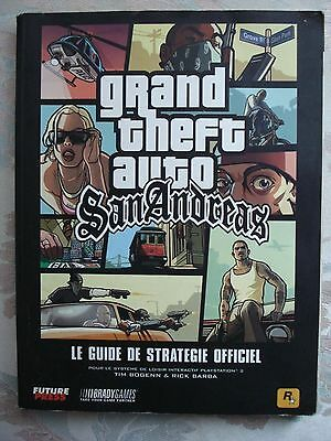 Le Guide De Strategie Officiel Grand Theft Auto Gta San Andreas Francais + Plan