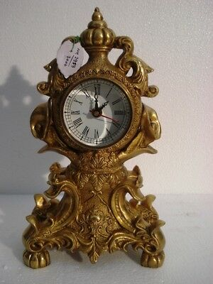 LARGE - ANTIQUE Style Brass TOWER Clock - Heavy Weight - Best Collection (2953)