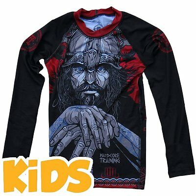 Kids Rashguard Hardcore Training Viking 3.0 Niño Compresión superior MMA Fitness