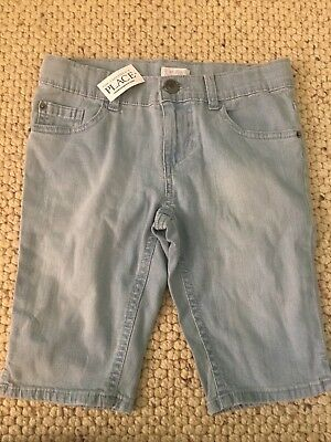 The Children's Place Girl Blue Jean Shorts  Size 10 Brand New With Tag