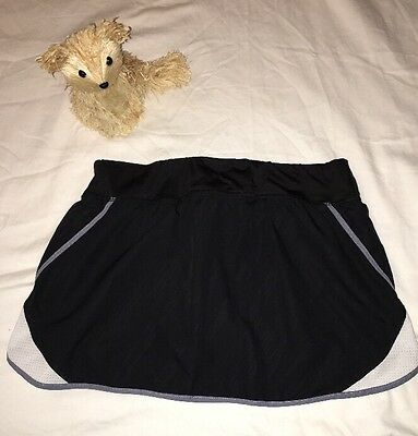 Champion youth tennis black skirt with undershorts SZ/S