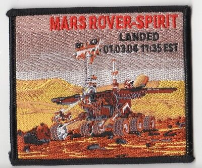 "MARS Rover Spirit Landed 01-03-04 Space Mission NASA 4"" Patch"