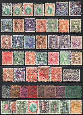 Guatemala 1879-1933; 50 Used Stamps