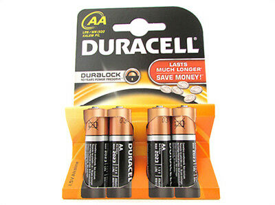 A2Zworld Batterie Duracell Alkali- Lr6 Mn1500 Tipo Mignon Aa 1,5V Blisterpackung