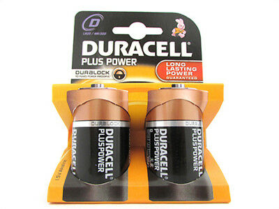 A2Zworld Cell Battery Duracell Alkaline Lr20 Mn1300 Plus Tipo Torch D 1,5V