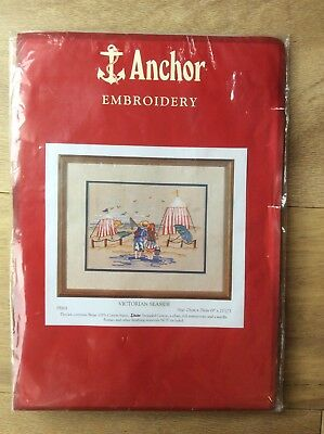 Anchor Embroidery Kit, Victorian Seaside.