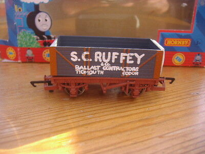 Boxed Hornby Thomas And Friends Oo Gauge.s.c.ruffey Wagon.