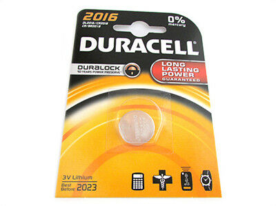 A2Zworld Batterie Lithium A Knopf Duracell 2016 Dl2016 Cr2016 Br201
