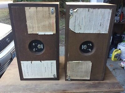 Acoustic Research  Suspension Loudspeaker System AR-4 x tested sound good