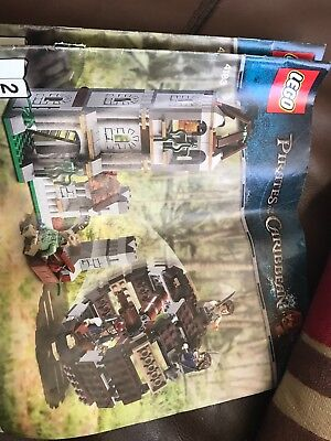 lego pirates of the caribbean instruction books 1 & 2