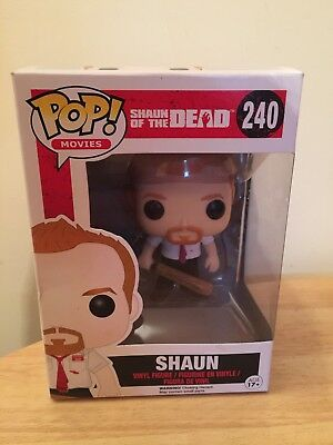 "Shaun Of The Dead Funko Pop! Vinyl Boxed Movies Action Figure 3.75"" Shaun 240"