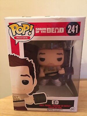 "Shaun Of The Dead Funko Pop! Vinyl Boxed Movies Action Figure 3.75"" Ed 241"