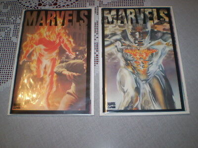 1994 Marvels Book #1 and Book #3