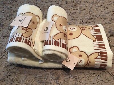 BNWT Baby Bath Towel Set