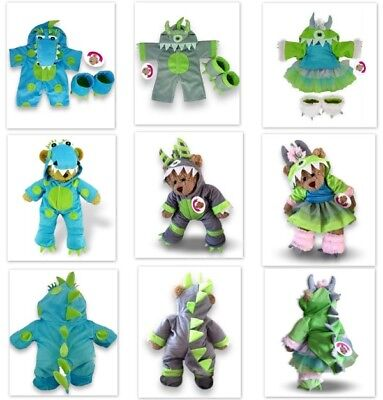 Teddy Bear Clothes Halloween Monster and Dragons Fun Outfits fits Build a Bear