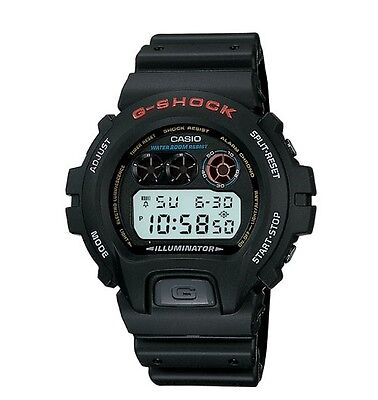 Casio DW6900-1V G-Shock Chronograph Black Resin Digital Sport Men's Watch