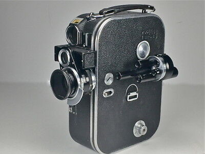 Zeiss Movikon 16Mm Camera+ 4 Lenses And More Must See
