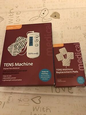 Brand New Tens Machine With Replacement Pads Boxes