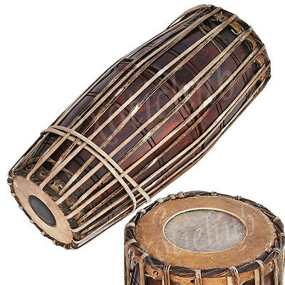 Mridangam~Mridang~Mirudang~Mridang~South Indian~Jack Fruit Wood~Hand Made Indian