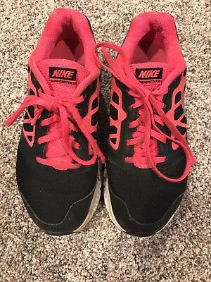 Nike Girls Downshifter Tennis Shoes Sneakers SIZE 4 Y Pink Black