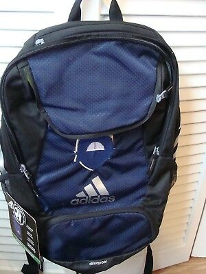 Adidas stadium backpack, Navy blue and black, NEW with tags