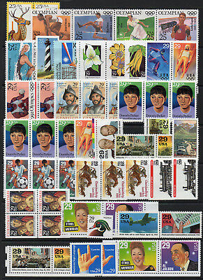 USA Unused (NG) Postage, Face Value $45+, 3 Scans