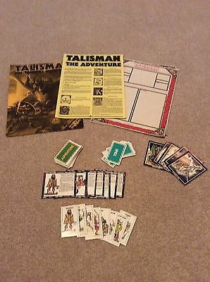 Games Workshop Talisman 2nd Edition The Adventure Oldhammer no box!