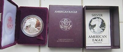 Us Silver Proof Dollar 1990 S