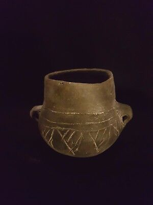 POTTERY- Ancient  Cup, Neolithic Age circa - 4500 B.C.