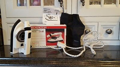 New unused REMINGTON Travel Plus Steam Iron