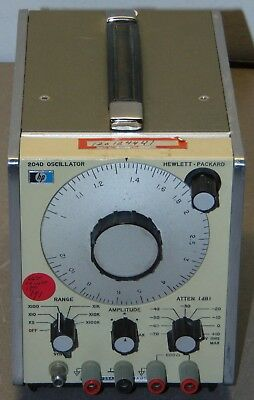 Hewlett Packard HP 204D Oscillator Calibrated