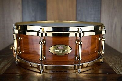 Pearl Masterworks Artisan 14 X 5 Limited Edition Rosewood Snare Drum (Pre-Loved)