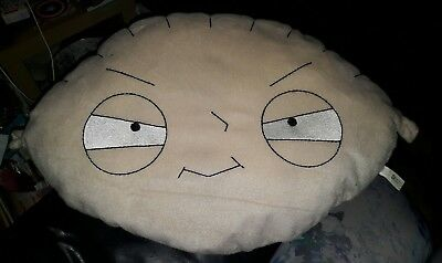 """large Stewie plush pillow family guy cartoon griffin 24"""" excellent condition"""