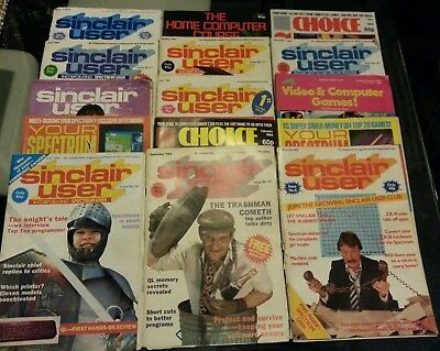 Sinclair Computer Magazines