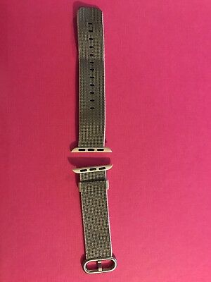 Genuine (with box) Apple Pearl Woven Nylon Watch Strap.