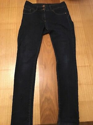Next Lift & Shape Skinny dark blue jeans 10R