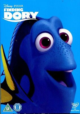 Walt Disney Finding Dory New Sealed with 'O' Ring Cover DVD