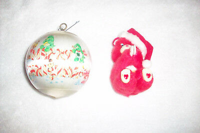 Vintage Care Bears Christmas Ornaments