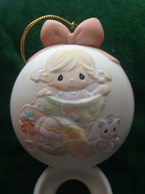 "2005 Precious Moments Ornament ""M ay Your Holiday Be So-Sew Special"""