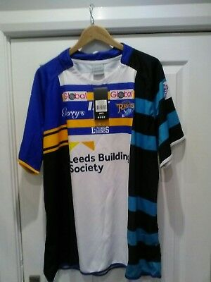 Leeds Rhinos 2015 treble jersey brand new with tags SIZE 5XL