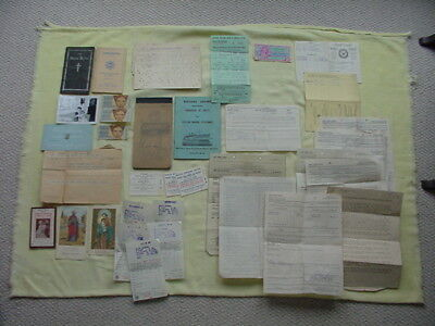 Post Korean War Era Paper Lot to Elroy Chapman, MSTS, Military Sea Trans Service