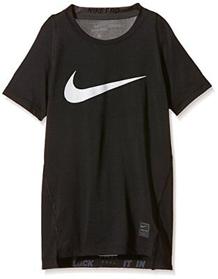 Nike Kids Boy's Cool HBR Compression S/S Youth (726462 010) SZ: LARGE