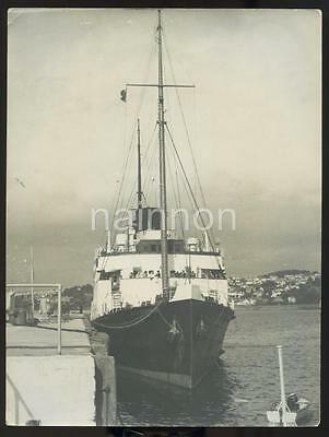 Real Photo - Southern Railways Steamer 'ISLE of GUERNSEY - built 1929