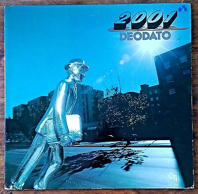 "Deodato ""2001"" re-issue US LP"