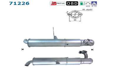 Catalytic Converter - AS 71226