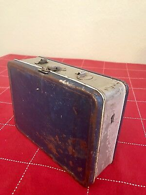 Vintage 1950's The American Thermos Bottle Co All Metal Lunchbox without Handle
