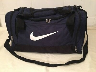 Nike Dark Blue Holdall Duffel Gym Travel Weekend Hand Luggage Bag