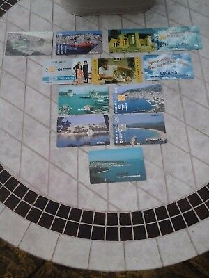 Greek Used Phonecards X12 £1.50