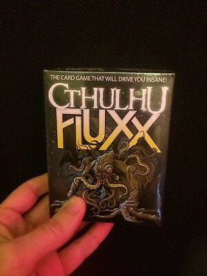 Cthulhu Fluxx Card Game - New and Sealed! H.P. Lovecraft