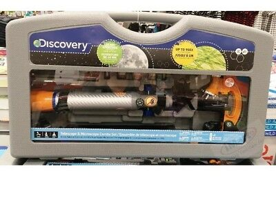Discovery Telescope & Microscope Combo Set Great Christmas / Xmas gift kids toy